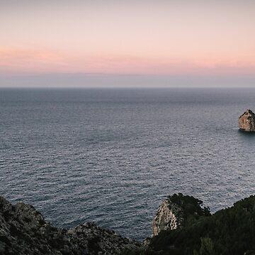 Formentor Sunset Panorama – Mallorca / Majorca by lesslinear