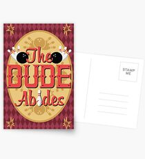 The Dude Abides Postcards