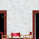 Folding chairs by mrfotos