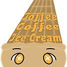 Kawaii Toffee Coffee Ice Cream by Castiel Gutierrez