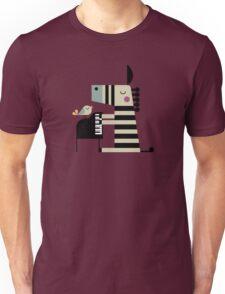 Music Zebra Unisex T-Shirt