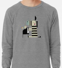 Music Zebra Lightweight Sweatshirt
