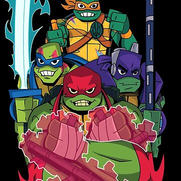 Rise of the new Turtles by nicitadesigns