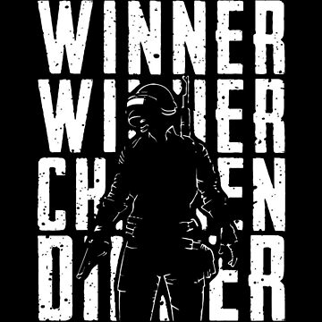 Winne winner chicken dinner by Alpha1012