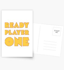 READY PLAYER ONE  Postcards