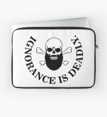 Ignorance is deadly Laptop Sleeve