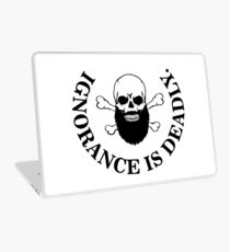 Ignorance is deadly Laptop Skin