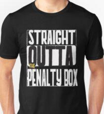 Straight Outta Die Strafbank Slim Fit T-Shirt