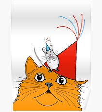 Cat & Mouse Party Fun ! Poster