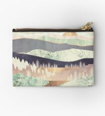 Golden Spring Reflection Studio Pouch