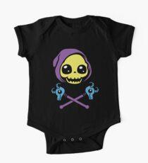 Skeletaww and Crossbones One Piece - Short Sleeve