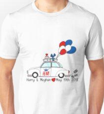 Harry & Meghan, the Royal Wedding 2018 Unisex T-Shirt