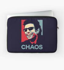 Ian Malcolm 'Chaos' T-Shirt Laptop Sleeve