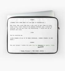 The Room Original Script Laptop Sleeve