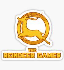 The Reindeer Games Sticker