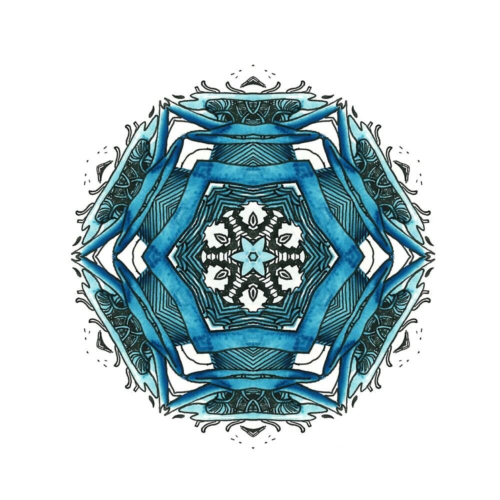 Blue shapes (GG2) by Gonçalo Gonçalves