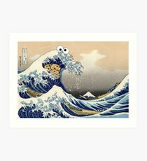 Sea is for Cookie Art Print