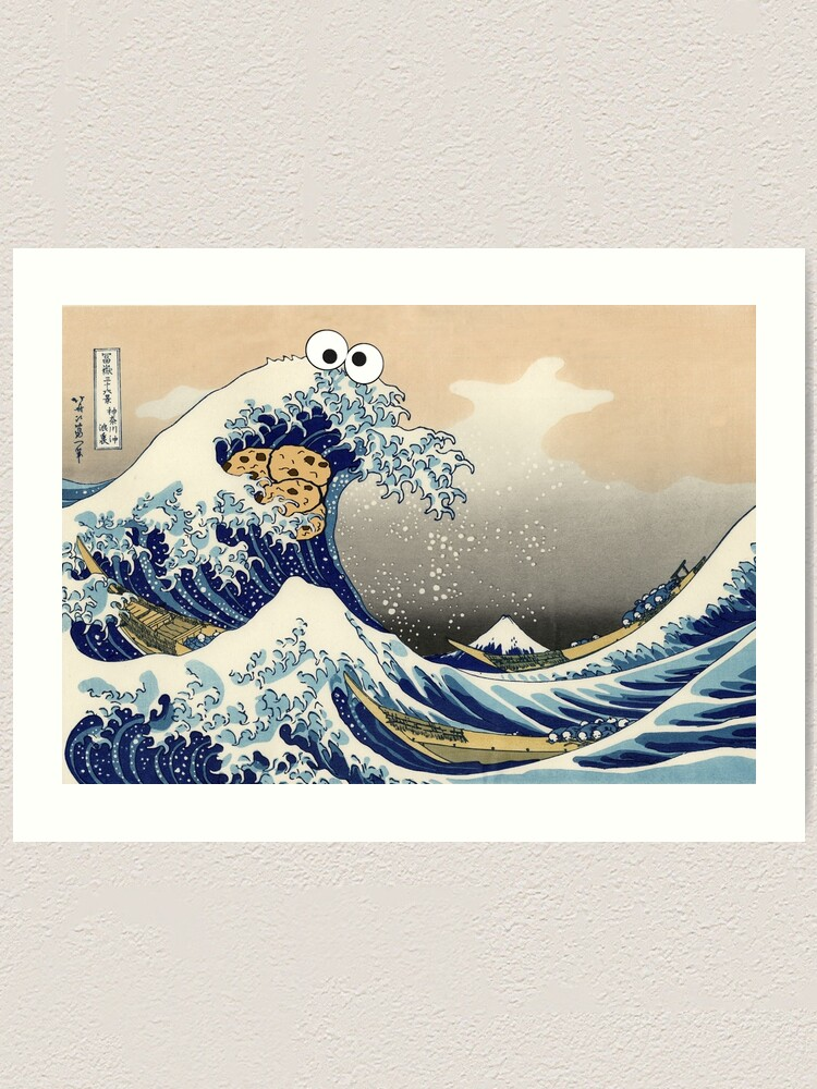 Alternate view of Sea is for Cookie Art Print
