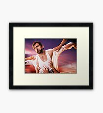 Steve Carell is a Lady's Man Framed Print