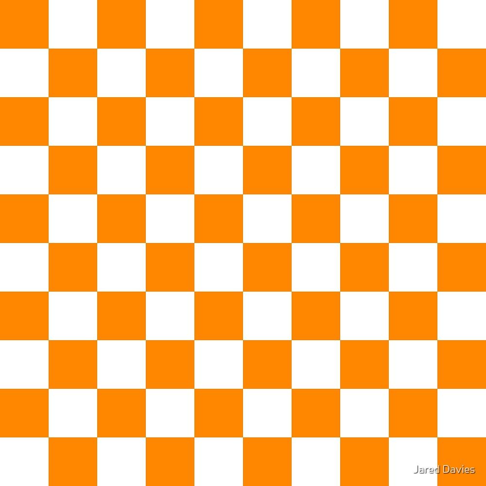 Orange: Checkered Pattern by MilitaryCandA