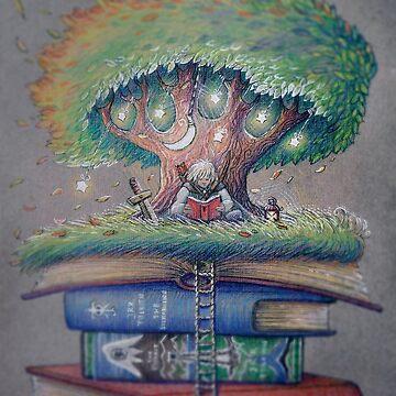 ILLUSTORY BOOK ELF by illustore