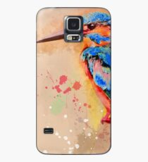 Kingfisher, Kingfisher art, Kingfisher watercolor Case/Skin for Samsung Galaxy
