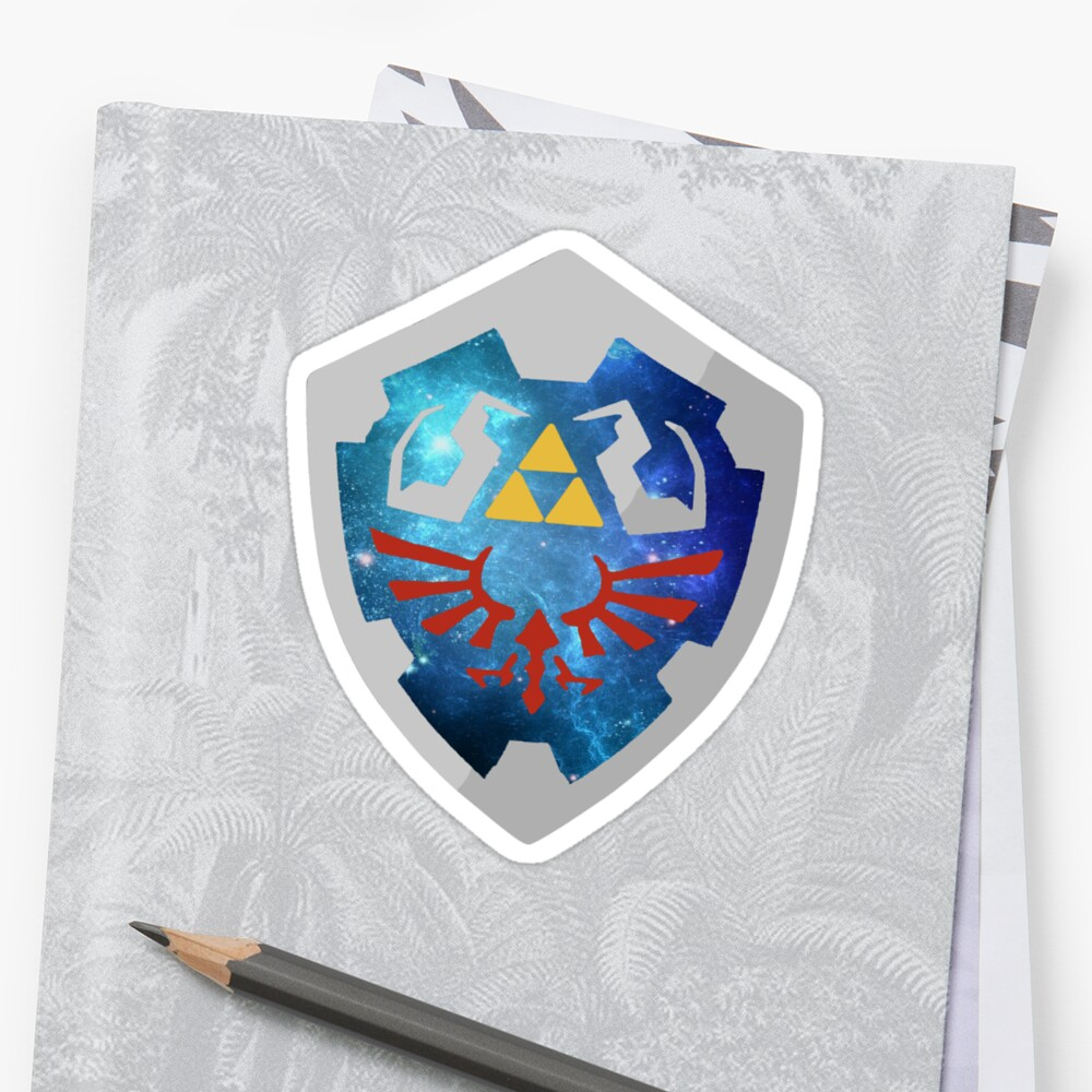 Galaxy Hylian Shield by Swainathan