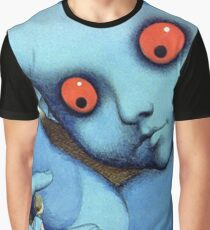 Fantastic Planet Psychedelic Cartoon Graphic T-Shirt