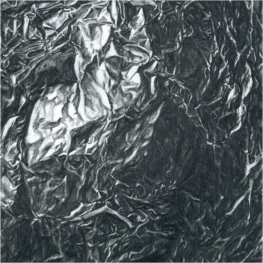 Foil Abstract Landscape by BlueHazeStudio