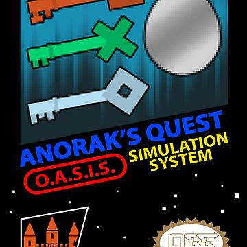 Anorak's Quest Cartridge by MadKingKev