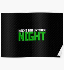 The Night - Dark Poster