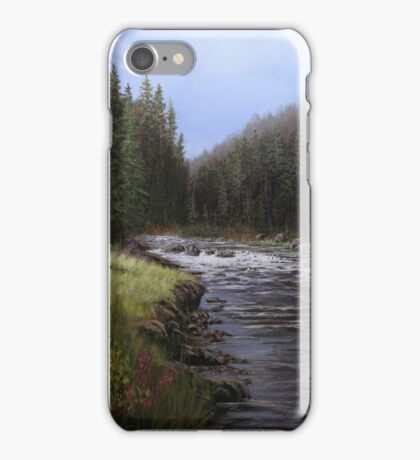 Along The Lochsa iPhone Case/Skin