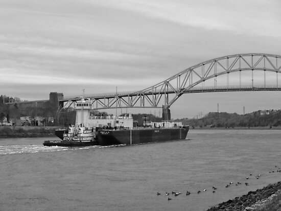 Cape Cod Canal Tugboat by Paris2CapeCod