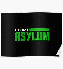 The Asylum - Dark Poster