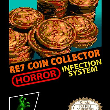 RE7 Coin Collector Cartridge  by MadKingKev