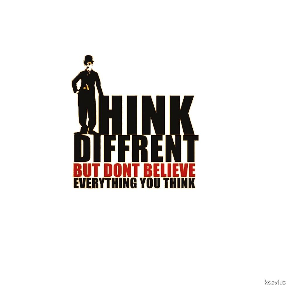 Think different by kosvius
