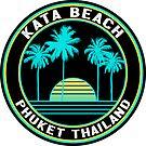 Surfing Kata Beach Phuket Thailand Surf  by MyHandmadeSigns
