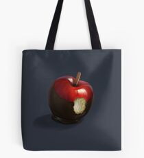 snow white's apple Tote Bag