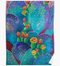 Joyful Prickly Pear Poster