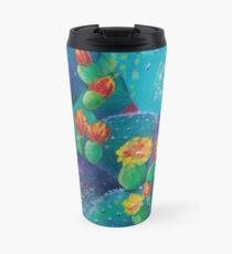 Joyful Prickly Pear Travel Mug