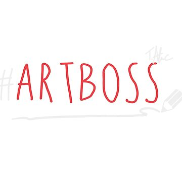 ArtBoss Red by TerryAlecStore