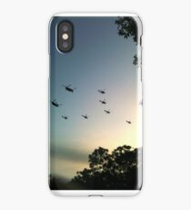 Helicopter display iPhone Case