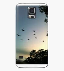 Helicopter display Case/Skin for Samsung Galaxy