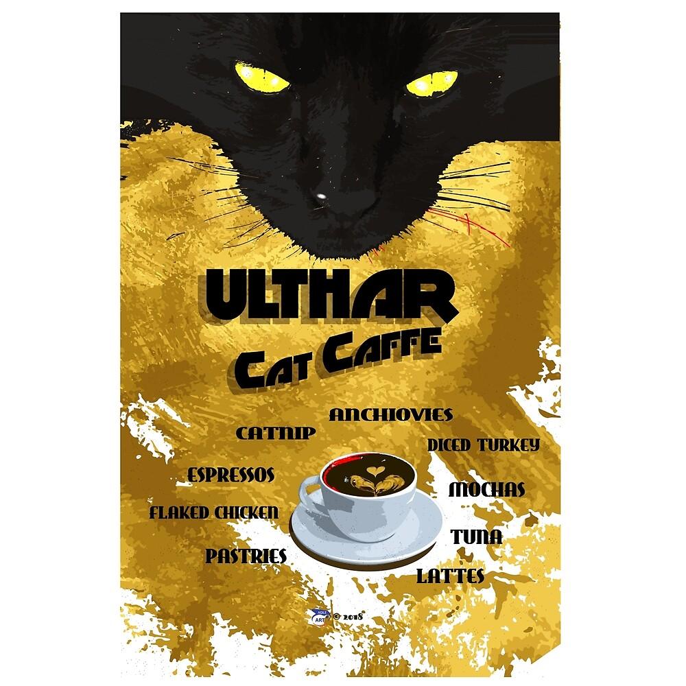 Ulthar Cat Caffe by agileArt