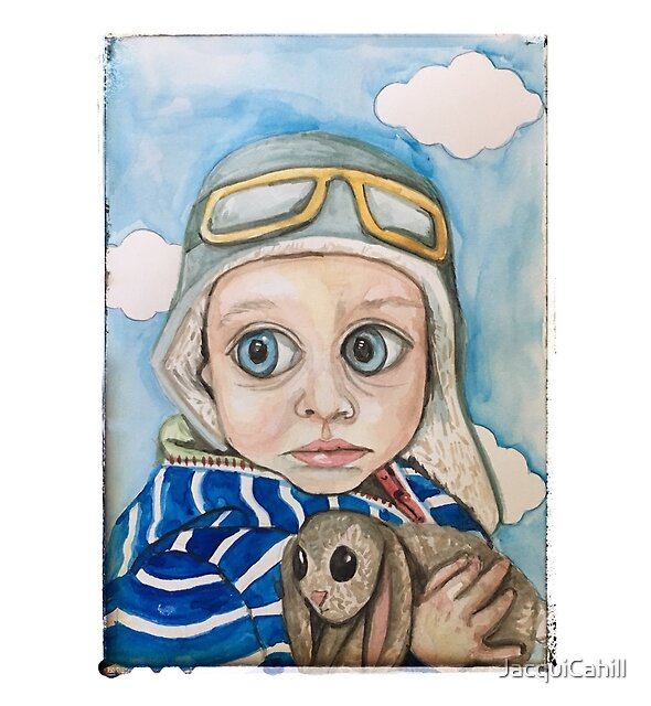 Little Aviator by JacquiCahill