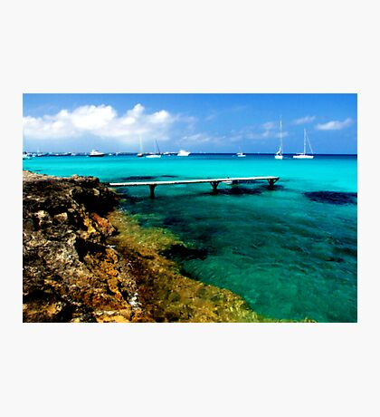 PARADISE NEVER TO FORGET  FOREVER Photographic Print