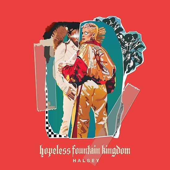 Hoffnungsloser Brunnen Kingdom-Halsey von apprntlyvntge