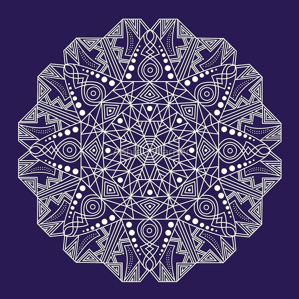 Mandala 5 by Ashley Warner