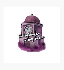 Storybrooke Is My Home Photographic Print
