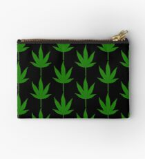 marijuana leaf Studio Pouch